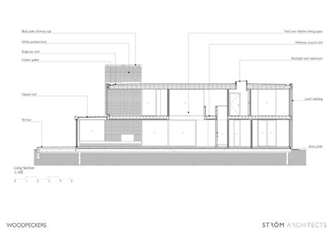 woodpecker house plans woodpeckers house in the new forest e architect