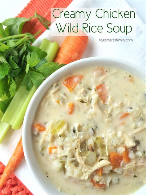 wild rice chicken soup cooking light creamy chicken wild rice soup recipe cook in left out