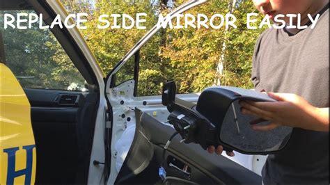 remove  replace  side mirror  honda ridgeline dm garage youtube