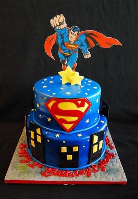 Homemade Decorations For Home by Superman Birthday Cake Ideas