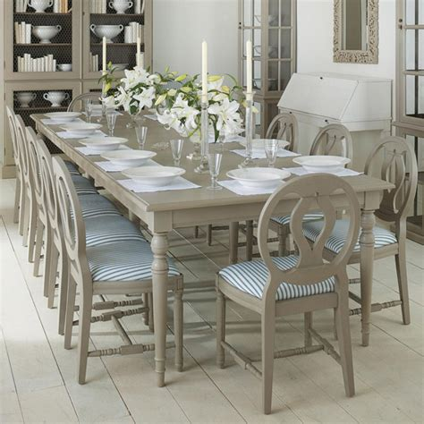 Stola Extending Dining Table, Painted Wood   OKA