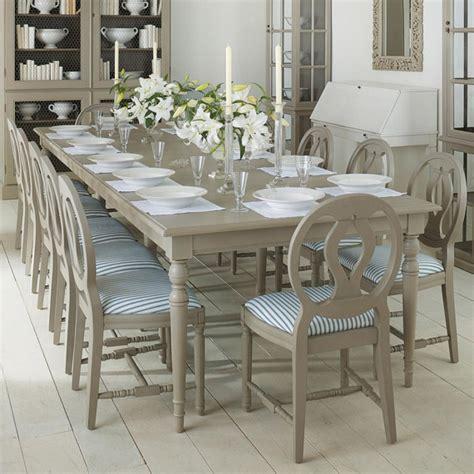 Stola Extending Dining Table Painted Wood Oka