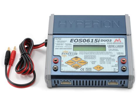 hyperion dual charger hyperion eos 0615i duo3 dual li nimh a123 balancing