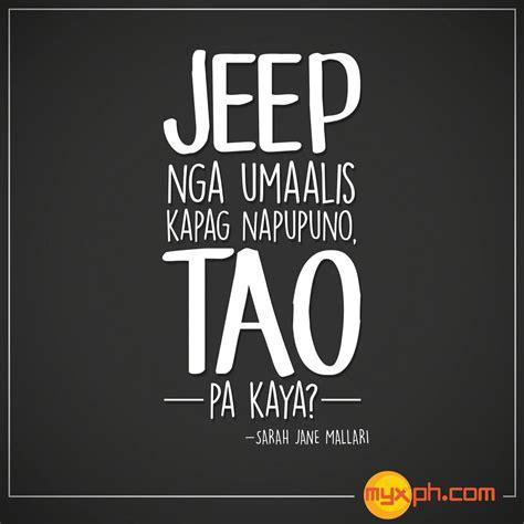 self kowts tagalog jeep tagal