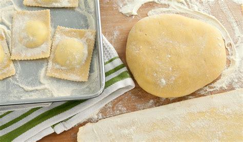 Handmade Pasta Dough - pasta dough in the kitchen with stefano faita