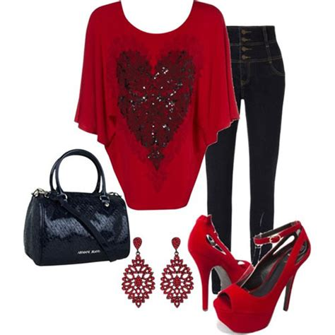 valentines clothes polyvore valentine s day casual for