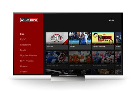 espn android app this is sportscenter disney brings watchespn app to android tv
