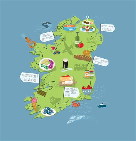 maps update 10001256 tourist map of ireland ireland