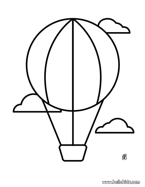 coloring pages balloons balloon designs pictures balloon coloring pages