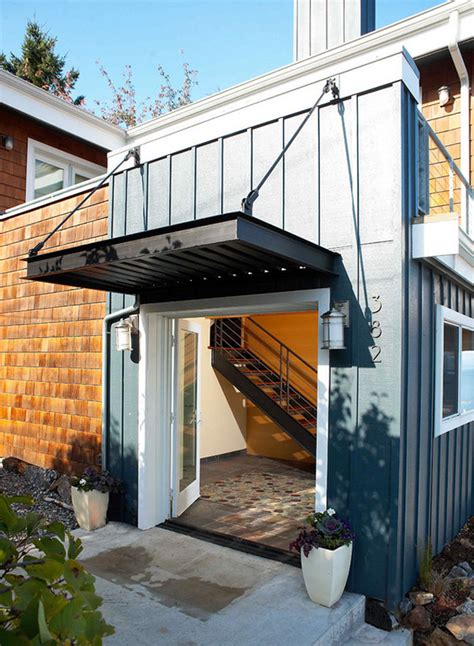 door awning ideas add decors to your exterior with 20 awning ideas lovers metals and canopy