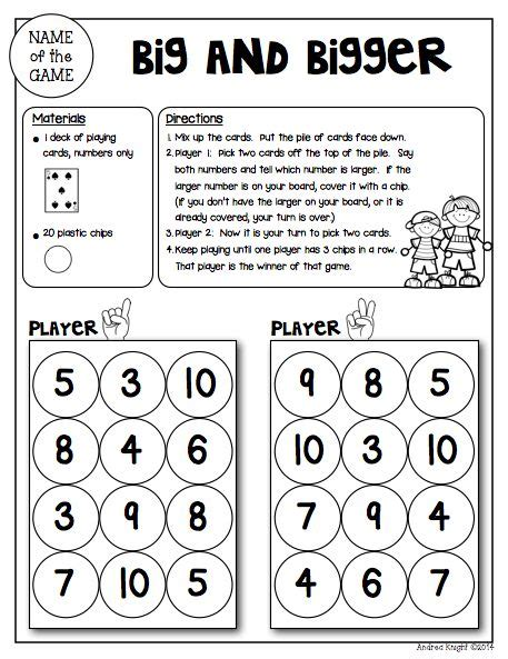 printable math games for adults math games for kinder partners reproducible and reusable