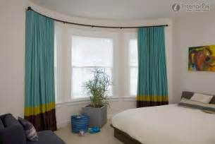bedroom bay window curtain effect picture bedroom curtain amazing bow window curtain rods curved rods for