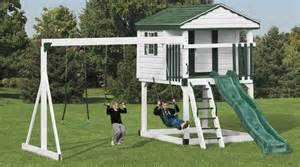 Diy Backyard Slide Amish Playsets Swing Sets In Maryland Amp New Jersey