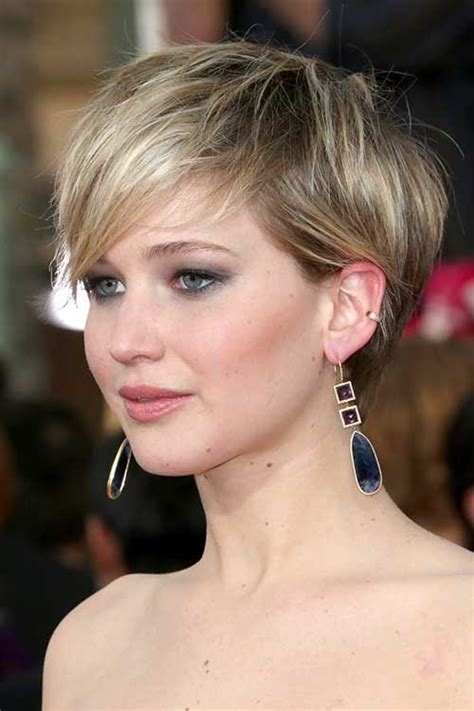 Jennifer Lawrence Pixie Cut 2014   Pixie Cut 2015