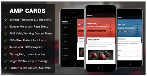 amp card mobile mobile google amp template by enabled