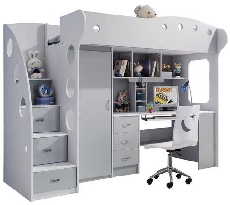 lit combiné bureau enfant optimiser l espace d une chambre enfant avec un lit combin 233