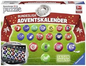 Calendrier 2 Bundesliga 18 Puzzles 3d Calendrier De L Avent Bundesliga En