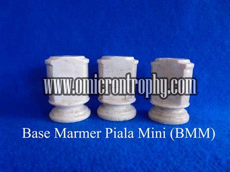 Piala Mini Trophy base marmer piala mini bmm omicron trophy