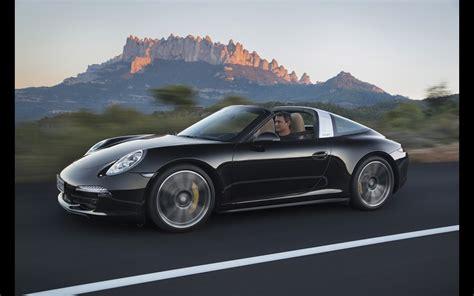 Porsche Targa Black by 2014 Porsche 911 Targa Black Motion 1 2560x1600