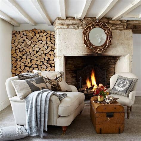 rustic country living room housetohomecouk