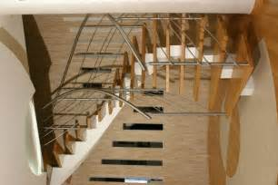 Curved Stair Railings by Residential Curved Stairs Helical Luxury Grand Design Stairs