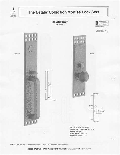 baldwin mortise lock diagram baldwin mortise lock parts images