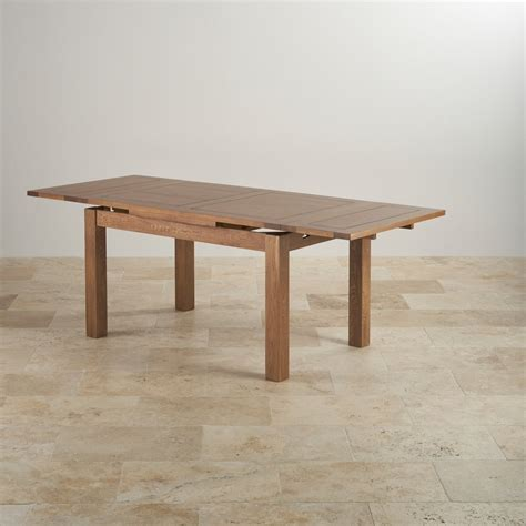 rustic oak dining tables rustic oak 4ft 7 quot dining table with 6 chairs