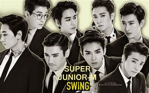 super junior swing k pop lover super junior m swing wallpaper