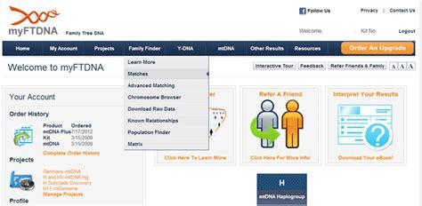 tree finder family finder isogg wiki