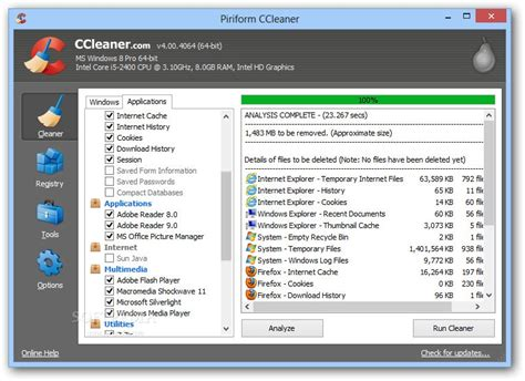 ccleaner update safe ccleaner free download for windows 10 how to run ccleaner