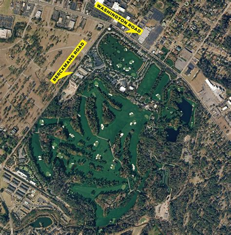 augusta national golf club exploring  masters venue