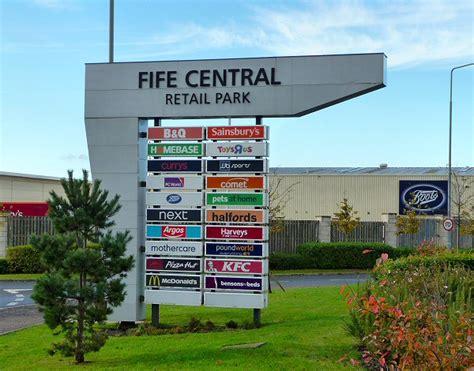 retail park fife central retail park