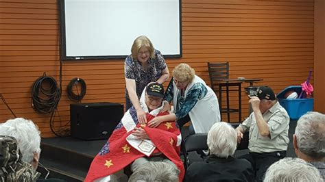 valor local home local veterans honored with quilts of valor wisconsin
