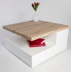 ophrey table salon blanche et bois pr 233 l 232 vement d