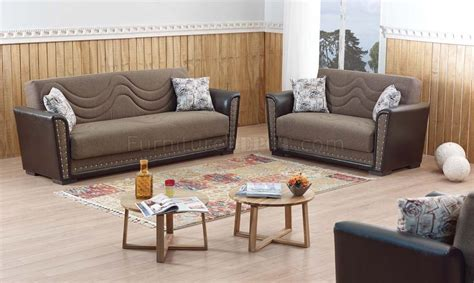 Sofa Upholstery Toronto by Toronto Sofa Bed In Brown Fabric By Empire W Options