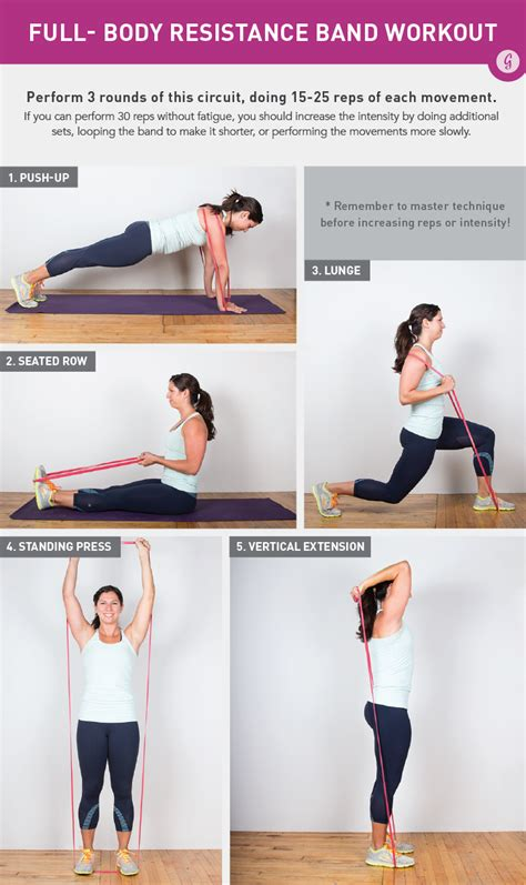 resistance band workouts a do anywhere resistance band workout greatist