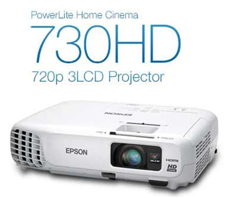 epson home cinema 730hd hdmi 3lcd 3000 lumens color and
