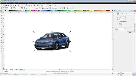 membuat gambar transparan di corel x3 cara membuat raster titik di corel draw untuk foto dan