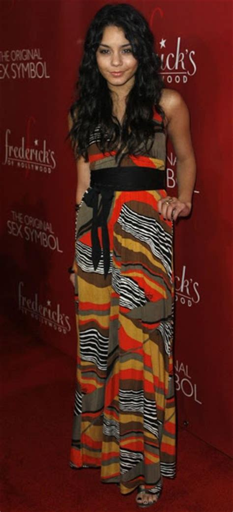 On The Carpet For Fredericks Of 2008 Collection by Carpet Dresses Hudgens Frederick S Of