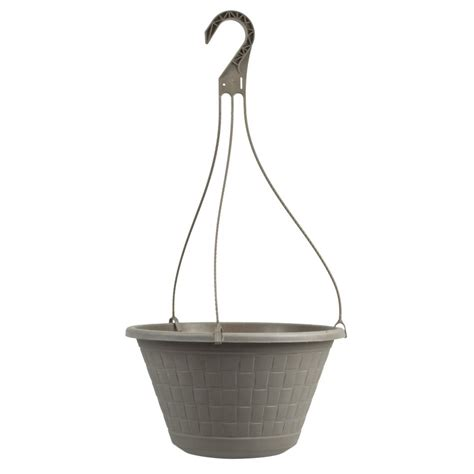 Plastic Hanging Planter 12 quot haywood hanging planter with plastic hanger pride