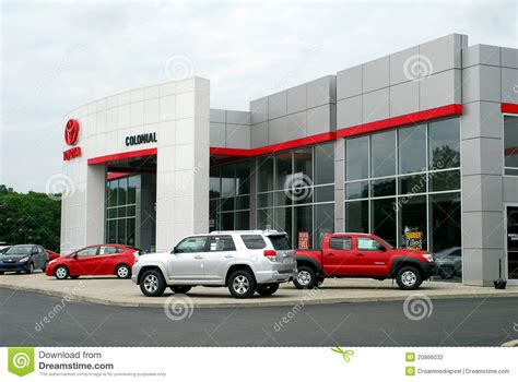 toyota car dealership toyota car and truck dealership editorial photography