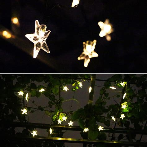 solar powered string lights patio solar powered patio lights string www imgkid the