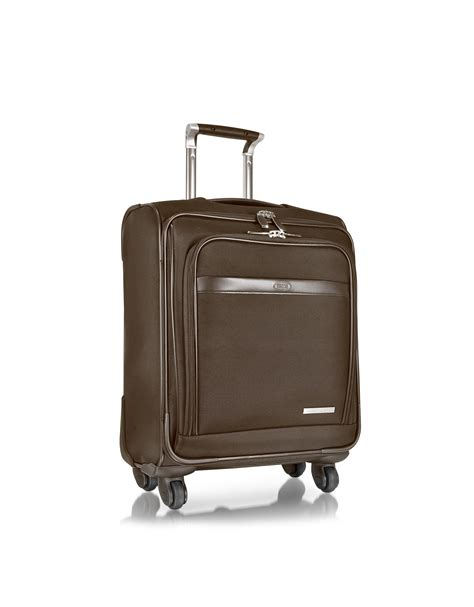 bric s pininfarina carryon trolley w spinners in black for