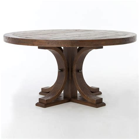pedestal dining room table get both looks and function in your dining room with