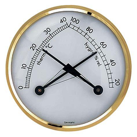Termometer Analog tfa dostmann thermo hygrometer klimatherm analog
