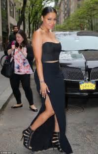 Lala Dress la la anthony channels in black dress to