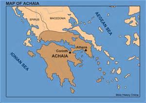 corinth ancient greece map