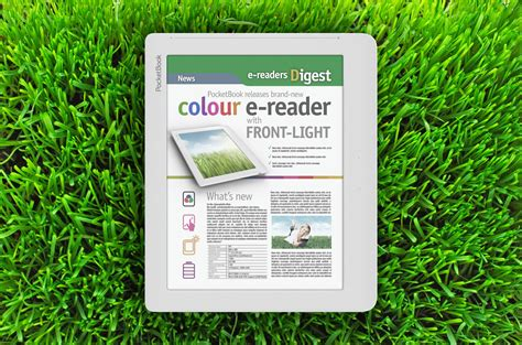 pocketbook to make 8 quot color e ink ereader with frontlit