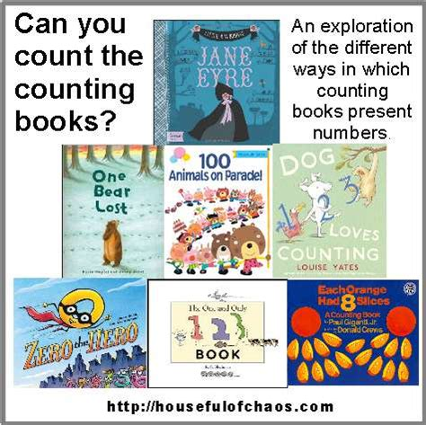 count to ten a novel books can you count the counting books s houseful of