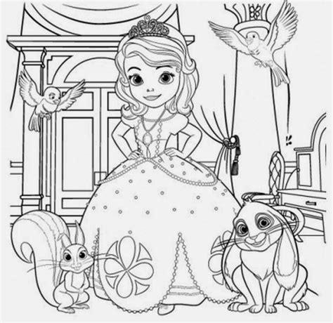 imagenes para pintar sofia mi colecci 243 n de dibujos princesa sofia para colorear